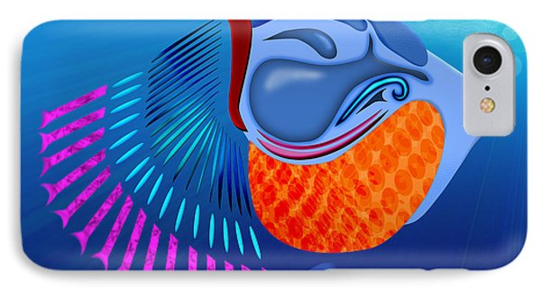 Go Fish Phone Case by Linda Seacord