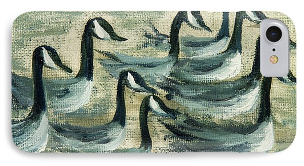 Go Geese IPhone Case by Jodi Monahan