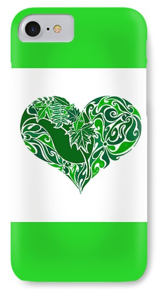 Go Green IPhone Case by Anushree Santhosh