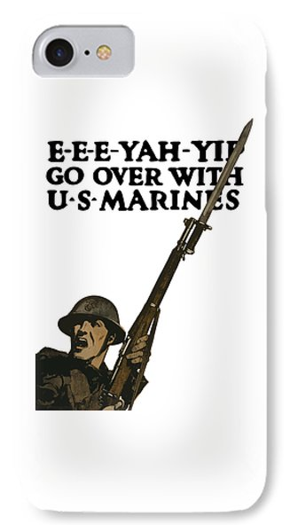 Go Over With Us Marines IPhone Case