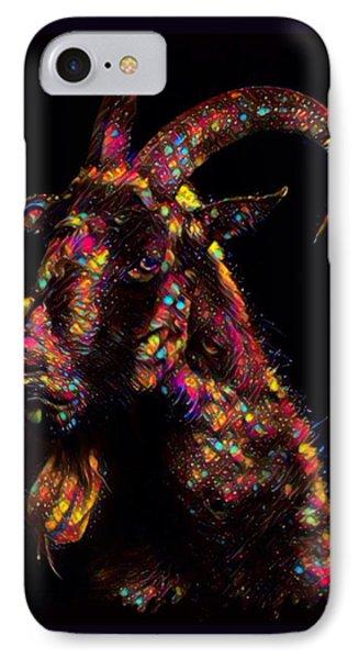 Goat Color Splash IPhone Case