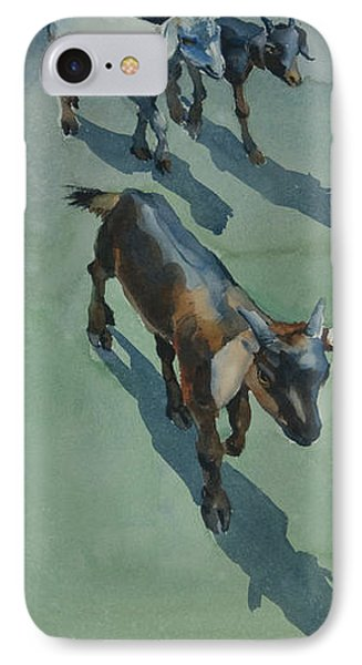 Goat IPhone Case by Helal Uddin
