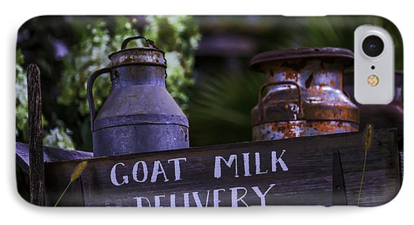 Goat Milk Delivery IPhone Case