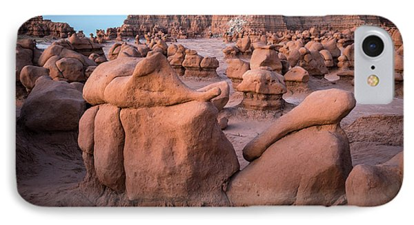 Goblin Valley Rock Formations IPhone Case by James Udall