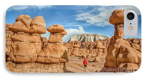 Goblin Valley State Park IPhone Case by JR Photography