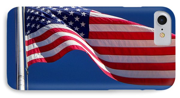 God Bless America IPhone Case by Betty Northcutt