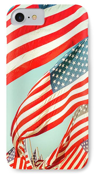 God Bless America IPhone Case by Debi Bishop