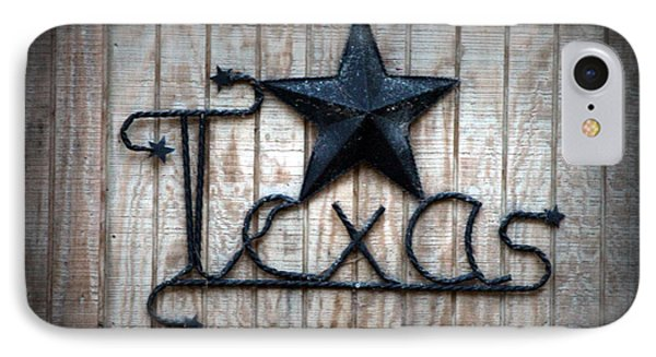IPhone Case featuring the photograph God Bless Texas by Kathy  White