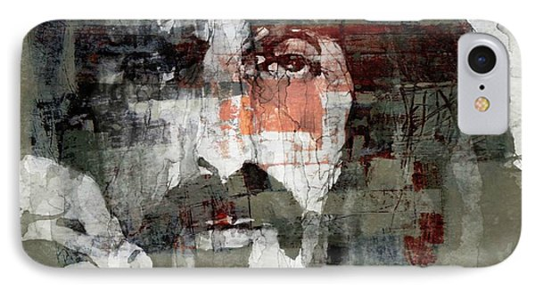 God I Think I'm The American Dream  IPhone Case by Paul Lovering