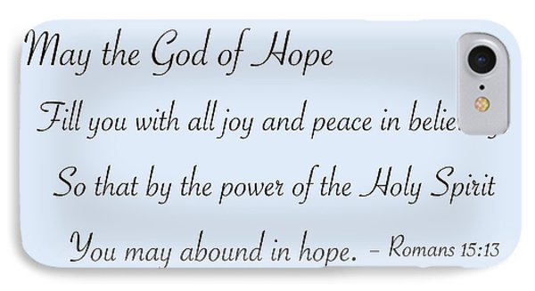 God Of Hope IPhone Case