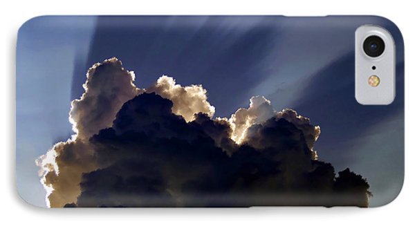 God Speaking Phone Case by David Lee Thompson