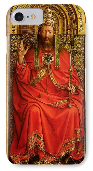 God The Father Phone Case by Hubert and Jan Van Eyck