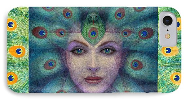Goddess Isis Visions Phone Case by Sue Halstenberg