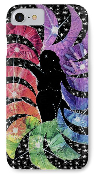 IPhone Case featuring the mixed media Goddess by Kym Nicolas