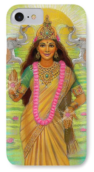 Goddess Lakshmi IPhone Case by Sue Halstenberg