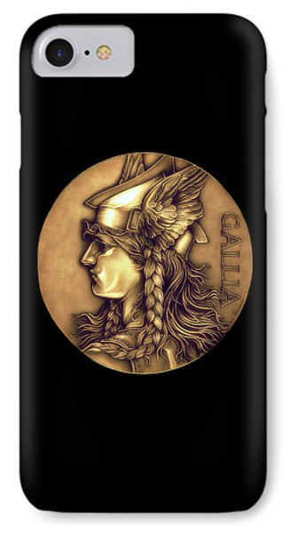 Goddess Of Gaul IPhone Case by Fred Larucci