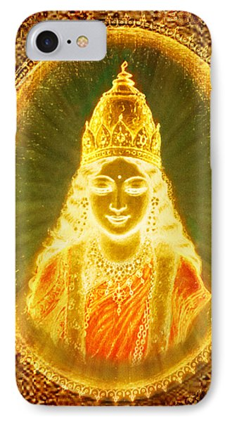 Goddess Of Light Phone Case by Ananda Vdovic
