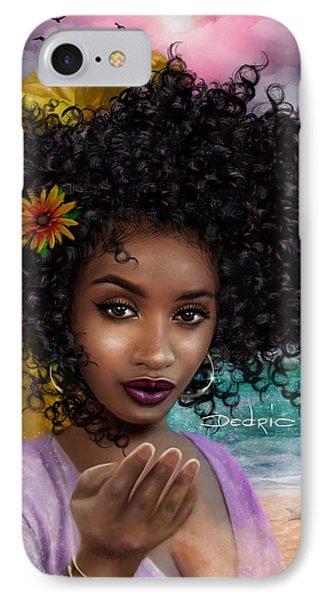Goddess Oshun IPhone Case by Dedric Artlove