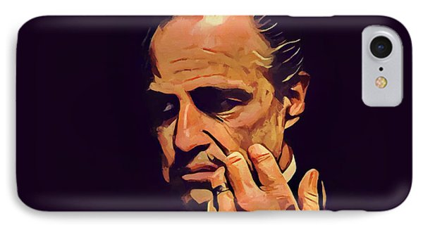 Godfather Make An Offer IPhone Case by Dan Sproul