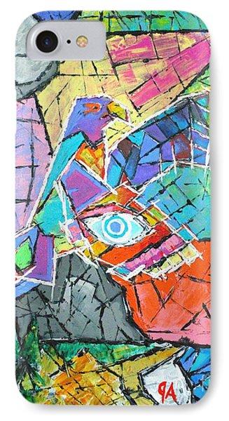 God's Eye, Like Eagle, Roams Earth, Night And Day IPhone Case by Jeremy Aiyadurai