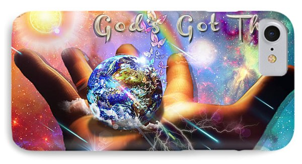 God's Got This IPhone Case by Dolores Develde