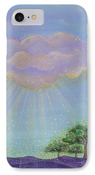 IPhone Case featuring the painting God's Grace by Tanielle Childers
