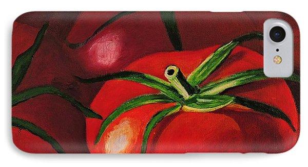 God's Kitchen Series No 3 Tomato IPhone Case by Caroline Street