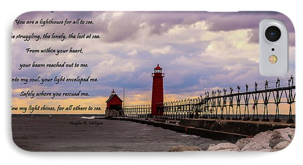 God's Lighthouse IPhone Case