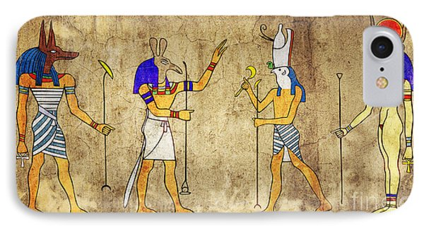Gods Of Ancient Egypt IPhone Case