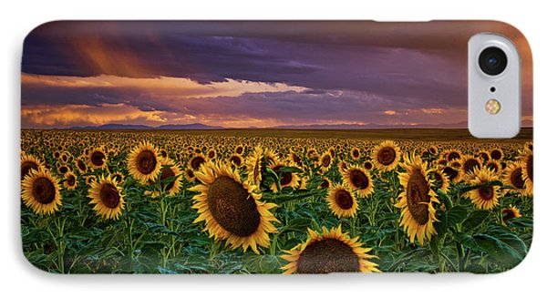 God's Painted Sky IPhone Case by John De Bord