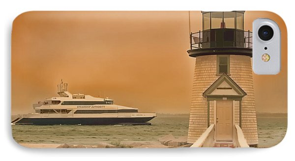 Godspeed At Brant Point Nantucket Island Phone Case by Jack Torcello