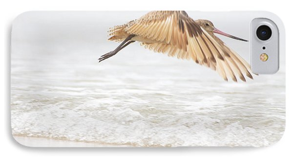Godwit Over The Ocean IPhone Case by Ruth Jolly