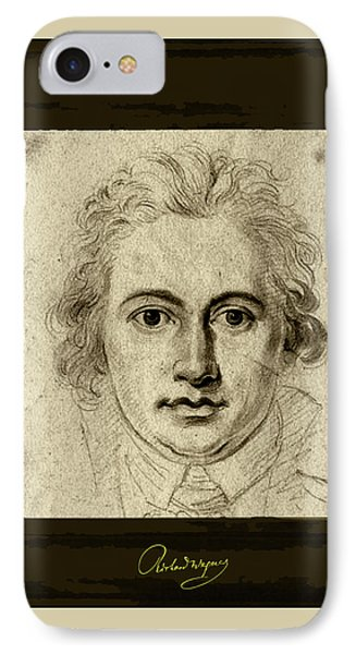 Goethe IPhone Case by Asok Mukhopadhyay
