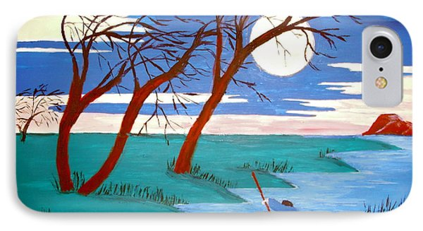 IPhone Case featuring the painting Going Home by Stephanie Moore