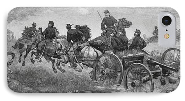 Going Into Battle - Civil War IPhone Case