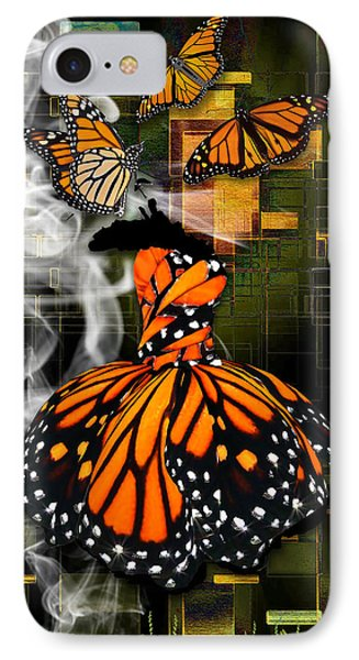 IPhone Case featuring the mixed media Going The Distance by Marvin Blaine