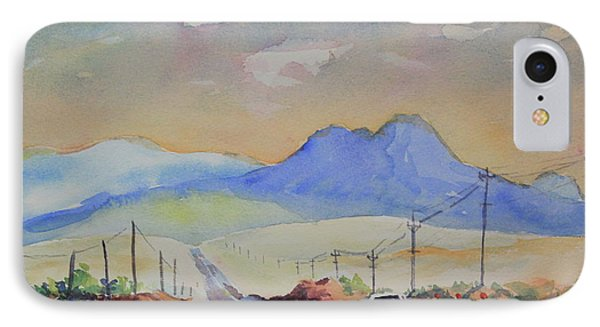 Going To Alpine IPhone Case by Marsha Reeves