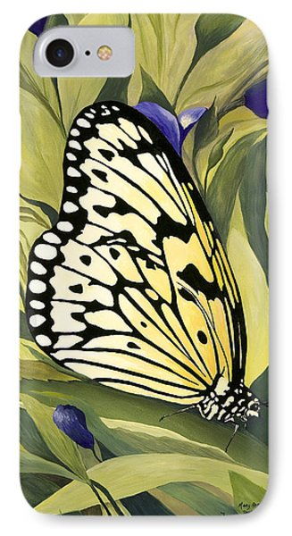 Gold Butterfly In Branson IPhone Case