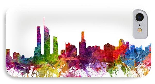 Gold Coast Australia Cityscape 06 IPhone Case