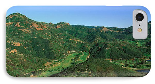 Gold Course, Malibu, California IPhone Case by Panoramic Images