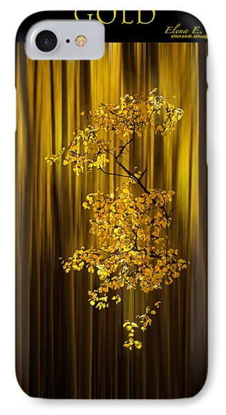 Gold IPhone Case by Elena E Giorgi