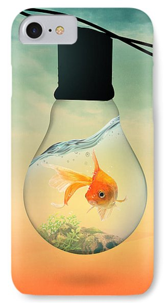 Gold Fish 4 IPhone Case