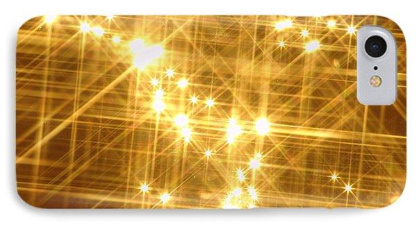 Gold Sparkle IPhone Case