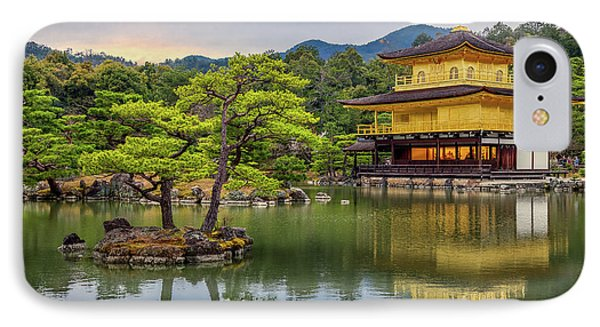 IPhone Case featuring the photograph Gold Temple,  by Rikk Flohr