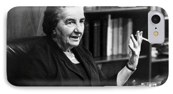 Golda Meir (1898-1978) Phone Case by Granger