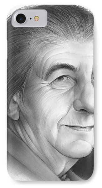 Golda Meir IPhone Case by Greg Joens
