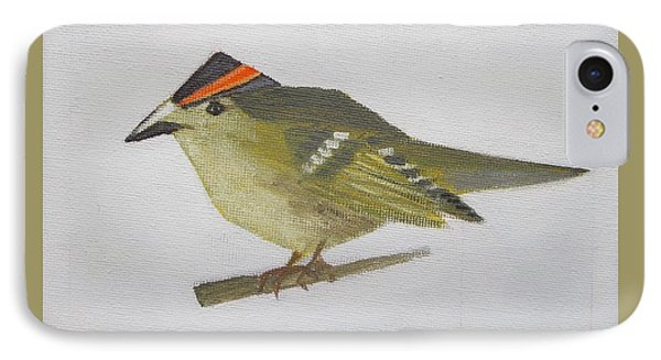 Goldcrest IPhone Case by Tamara Savchenko