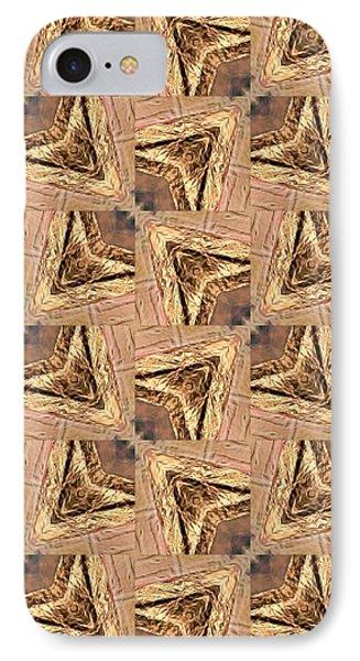 Golden Arrowheads IPhone Case by Maria Watt