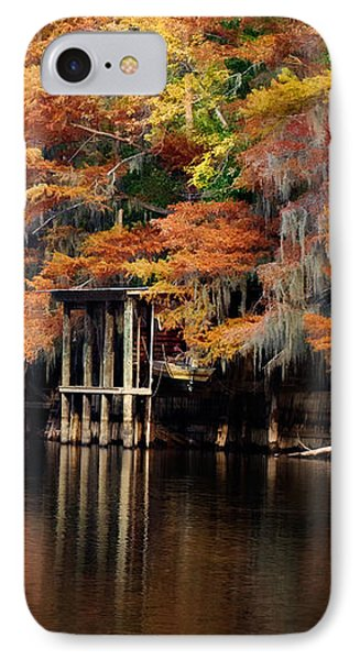 IPhone Case featuring the digital art Golden Bayou by Lana Trussell