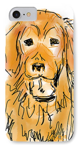 Golden Boy IPhone Case by Robert Yaeger